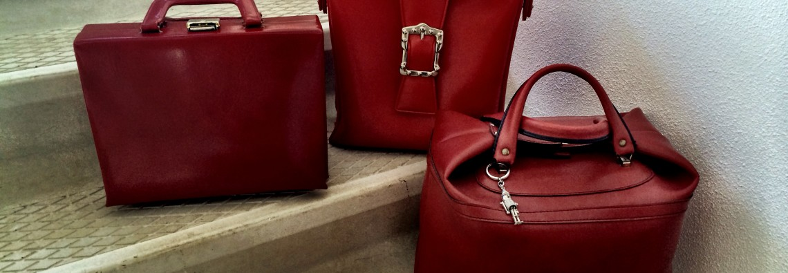 You can never have enough red bags.